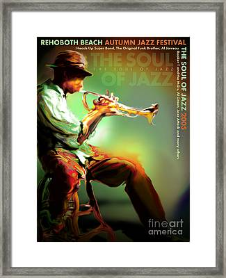 Rehoboth Beach Jazz Fest 2005 Framed Print by Mike Massengale