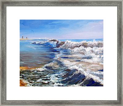 Rehoboth Morning Framed Print