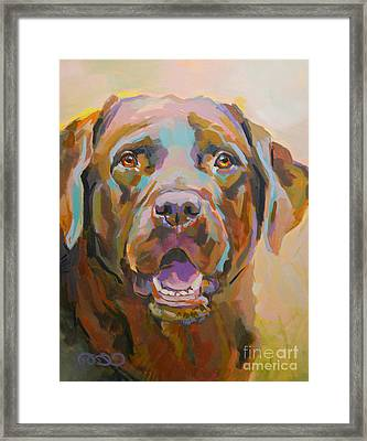 Reilly Framed Print by Kimberly Santini