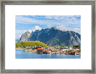 Reine In Lofoten Framed Print