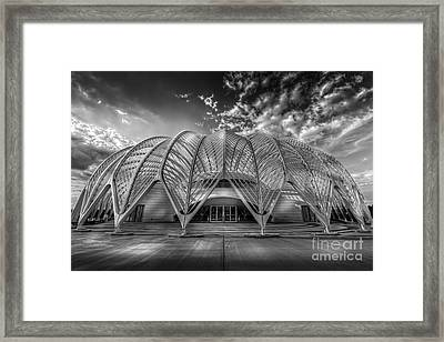 Reinforced Technology - Bw Framed Print by Marvin Spates