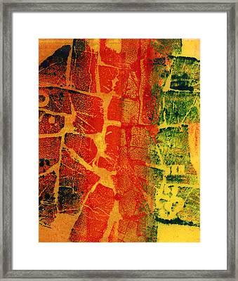 Reintegration  Framed Print by Nadia Korths