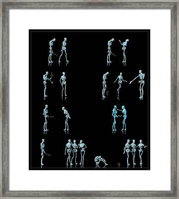 Rejected Robot... Framed Print by Tim Fillingim