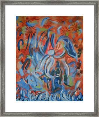 Rejoice Framed Print by Aisha Lumumba
