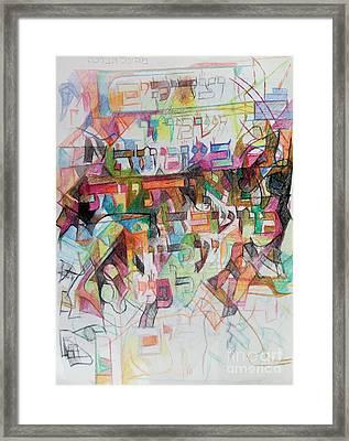 Rejoicing Of The Righteous Framed Print