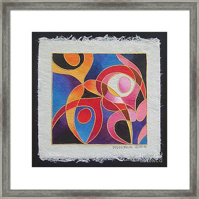 Reki I - Dance For Joy Framed Print