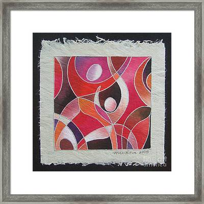 Reki IIi - Dance For Joy Framed Print
