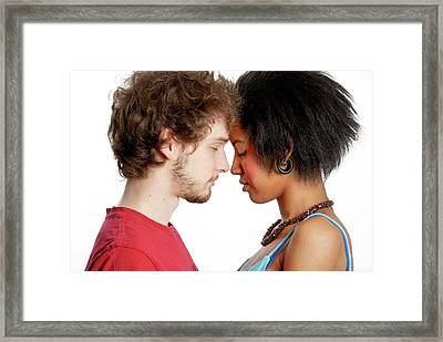 Relationship Framed Print