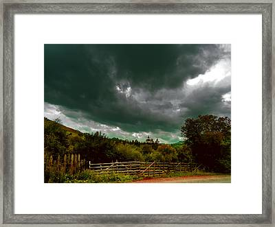 Relative Dimension Framed Print by Florin Birjoveanu