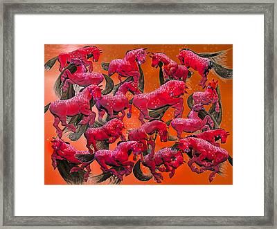 Relative Hell Framed Print