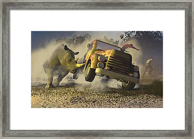 Relative Mass Framed Print