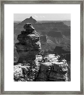 Relative Perspective Framed Print by Lovejoy Creations