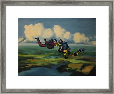 Relative Work Framed Print by John Malone