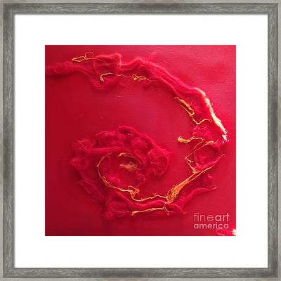 Relatively Prime Framed Print by Bebe Brookman