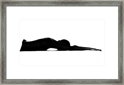 Framed Print featuring the pyrography Relax 2 by Evgeniy Lankin