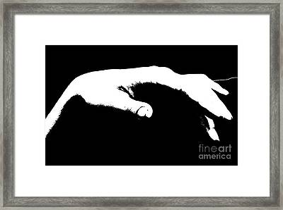 Framed Print featuring the pyrography Relax 7 by Evgeniy Lankin
