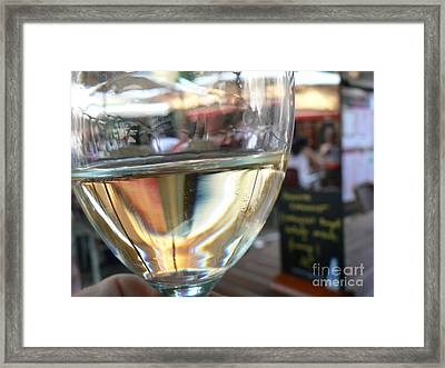 Cheers.. Framed Print