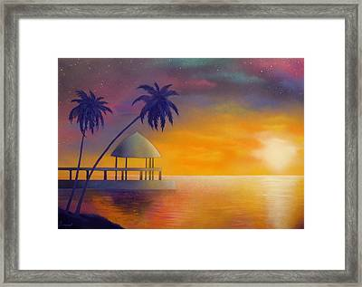 Relax Framed Print by Ismael Paint