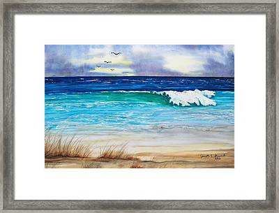 Relax Framed Print by Jeanette Stewart