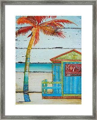 Relax No Working Framed Print