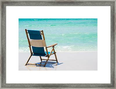 Relaxation Awaits Framed Print by Shelby  Young
