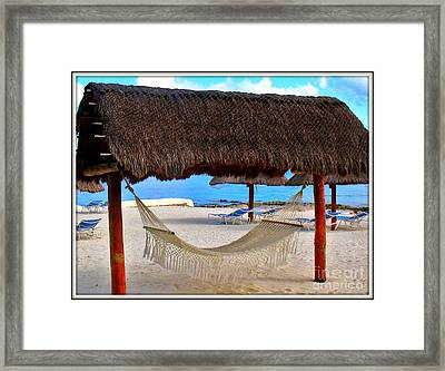 Relaxation Defined Framed Print by Patti Whitten