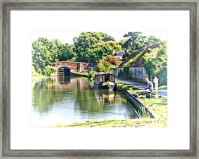 Relaxation Framed Print by Paul Gulliver