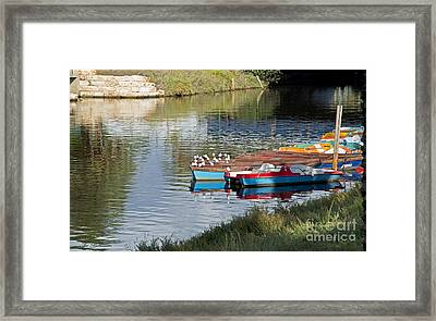 Relaxation Time 03 Framed Print by Arik Baltinester