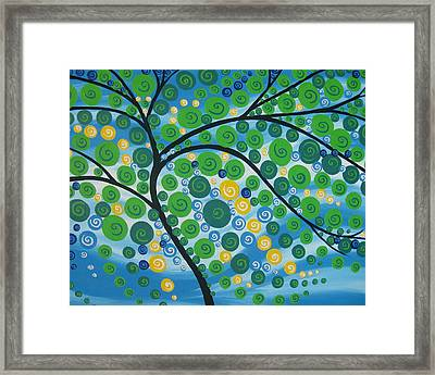Relaxation Tree Framed Print