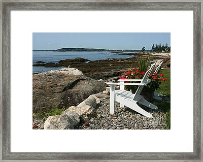 Relaxing Afternoon Framed Print