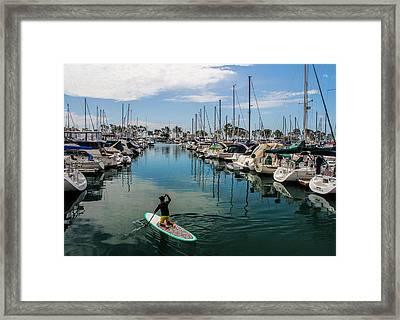 Relaxing Day Framed Print by Tammy Espino