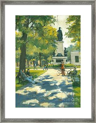 Relaxing Framed Print by Michael Swanson