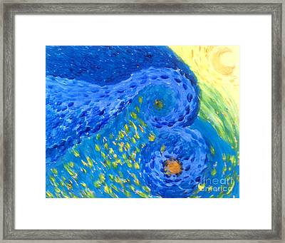 Relaxing Night Framed Print