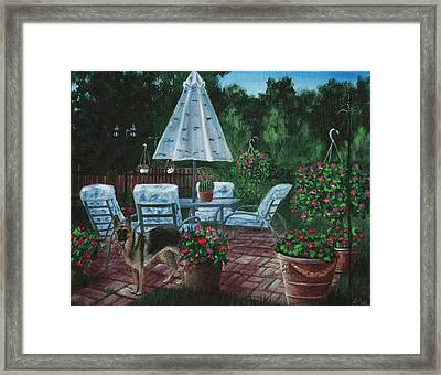 Relaxing Place Framed Print by Anastasiya Malakhova