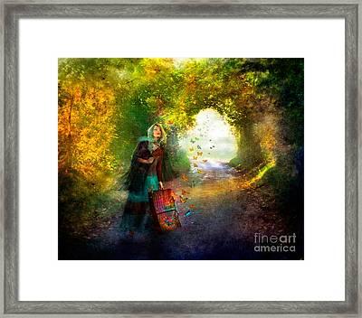 Release Framed Print by Aimee Stewart