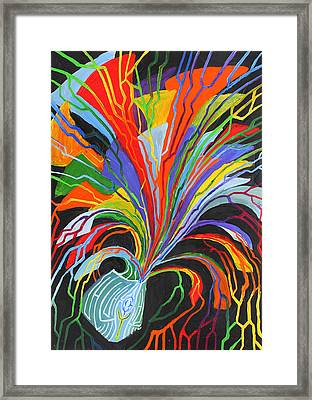 Release Framed Print by Maxwell Hanson