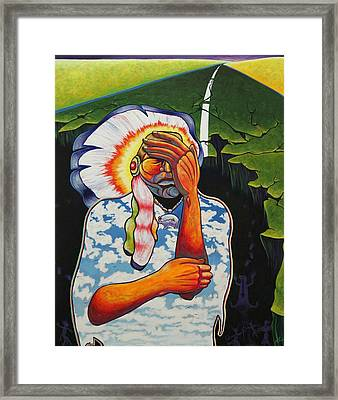 Release Me Framed Print by Joe  Triano
