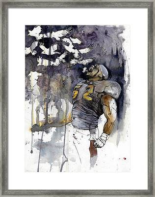 Release The Ravens Framed Print by Michael  Pattison