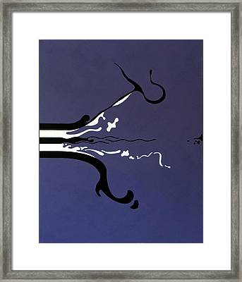 Release Framed Print by Thomas Gronowski