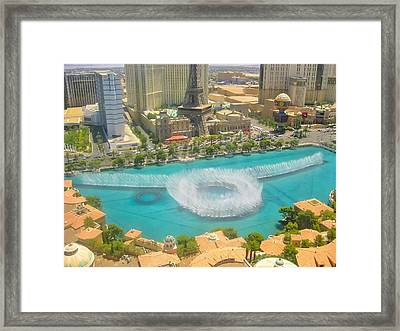 Release To Dance Framed Print by Angela J Wright