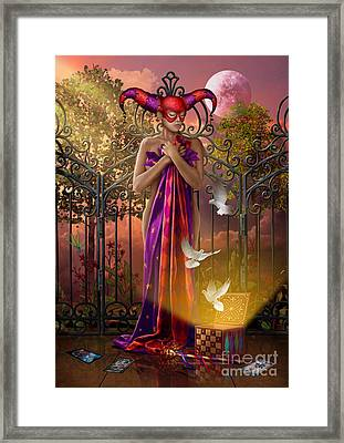Release Variant I Framed Print by Ciro Marchetti