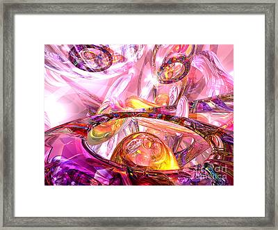 Released Happiness Framed Print by Alexander Butler