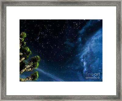 Releasing The Stars Framed Print