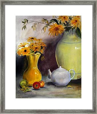 Framed Print featuring the painting Reliable Loyalty by Jane Autry