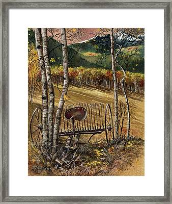 Relic In The Aspen Framed Print