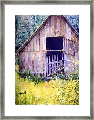 Relic Framed Print by Mary Lynne Powers