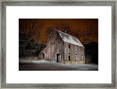 Relic Of Jo Daviess County I Framed Print by Tom Phelan