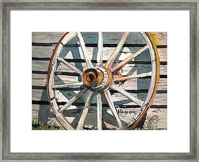 Relic Of The Past Framed Print by Spencer Meagher
