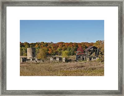 Framed Print featuring the photograph Relics Of The Past by Gary Hall