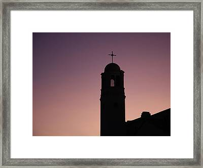 Religion Framed Print by Nathan Rupert